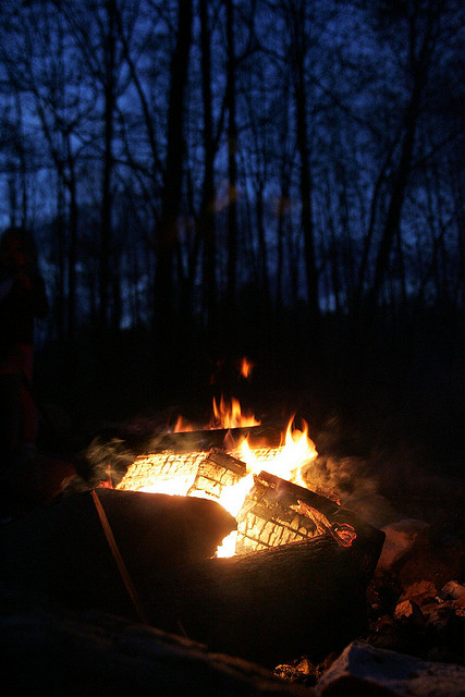 campfire - blue ridge parkway daily