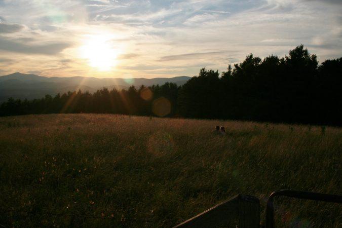 """Sunset Near Jefferson, North Carolina"" by Patricia Monica"