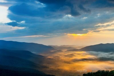 Pounding Mill Overlook - The Blue Ridge Parkway