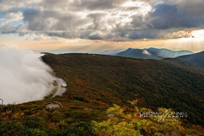 """Approaching Fog At Craggy Gardens"" by Deborah Scannell Photography"