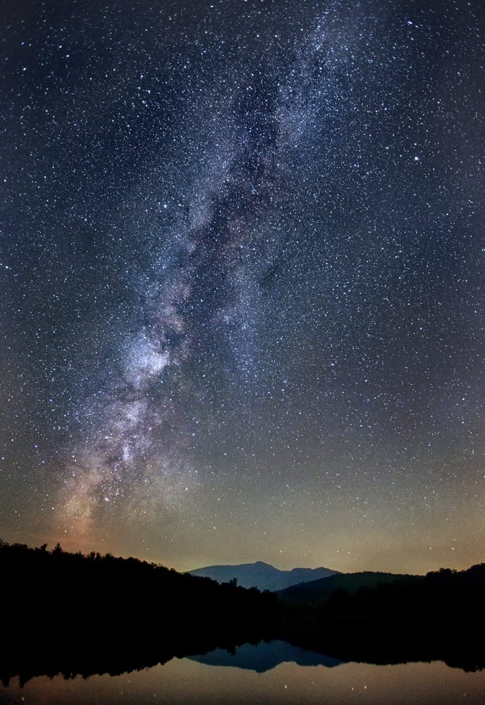 """Grandfather Mountain and The Milky Way"" by Tommy White Photography"