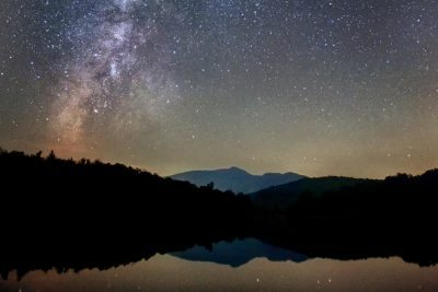 Grandfather Mountain and The Milky Way