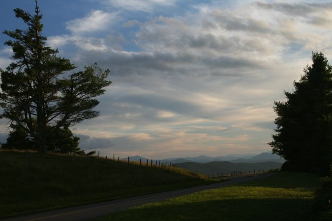 """Mt. Jefferson Overlook Blue Ridge Parkway Milepost 267"" by Patricia Monica"