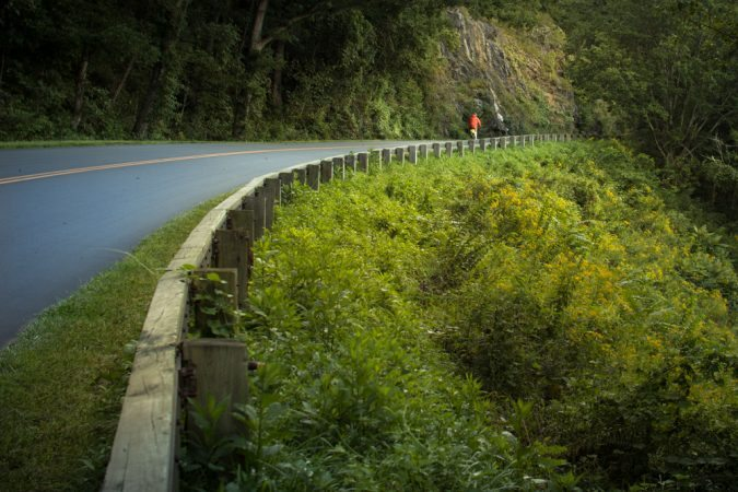 """""""Cycling the Parkway near Asheville"""" by Willis Norman Photography"""