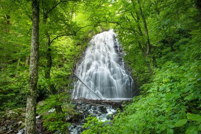 """Crabtree Falls, Blue Ridge Parkway Milepost 338"" by Tommy White Photography"