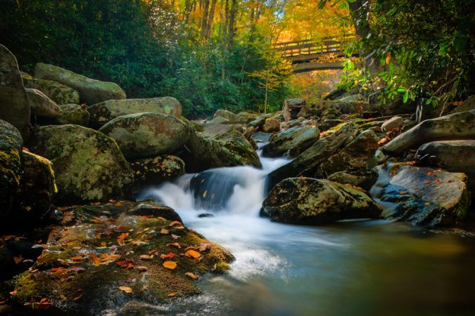 """Boone Fork Creek, Milepost 300"" by Miles Smith"