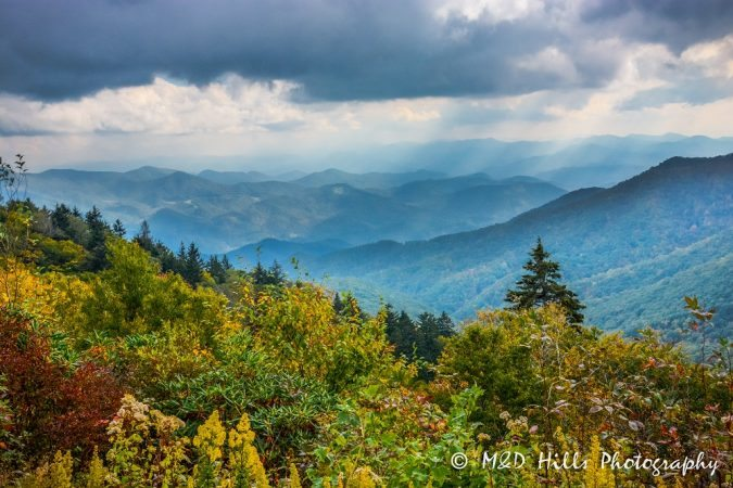 """Newfound Gap in the Great Smoky Mountains"" by M&D Hills Photography"