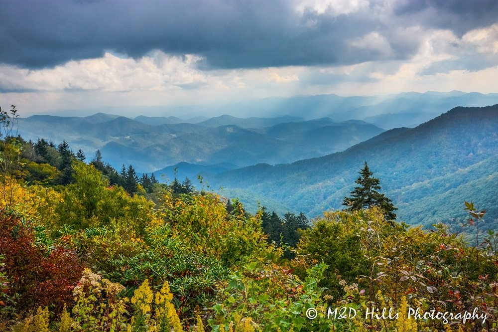 """""""Newfound Gap in the Great Smoky Mountains"""" by M&D Hills Photography"""