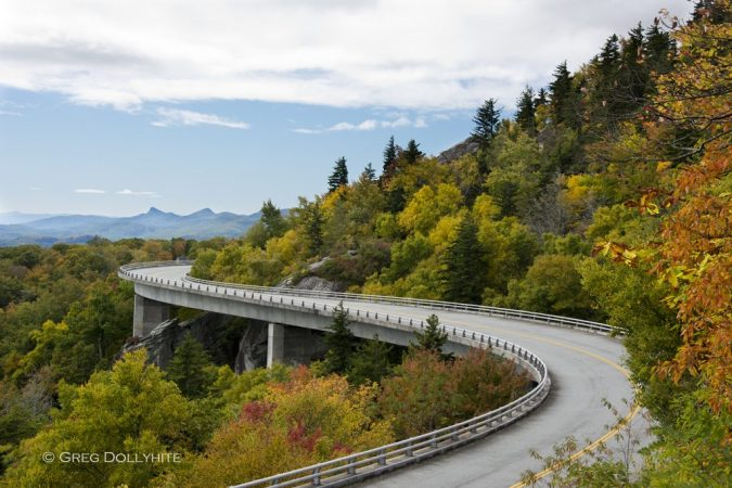"""Linn Cove Viaduct"" by Greg Dollyhite"