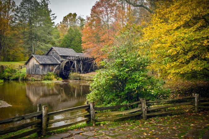 """""""Mabry Mill, Milepost 176"""" by Solitary Traveler Photography"""