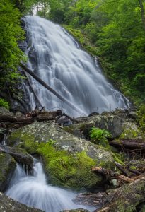 """Crabtree Falls, Milepost 339.5"" by Waterfalls of Western North Carolina"