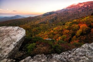 """Grandfather Mountain seen from Rough Ridge, Milepost 302.8"" by Victor Ellison Fine Art Photography"