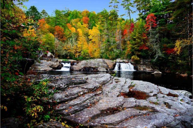 """""""Upper Linville Falls"""" by Robert Golub"""