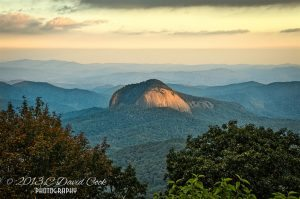 """""""Looking Glass Rock, Milepost 417"""" by C. David Cook"""