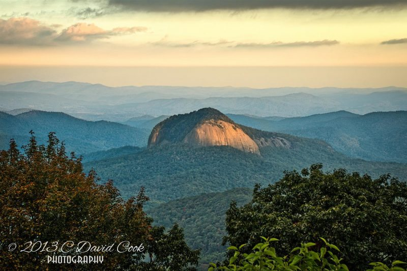 """Looking Glass Rock, Milepost 417"" by C. David Cook"