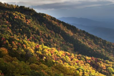 """Blue Ridge Parkway near Mt. Mitchell State Park"" by Glimpse of Light"
