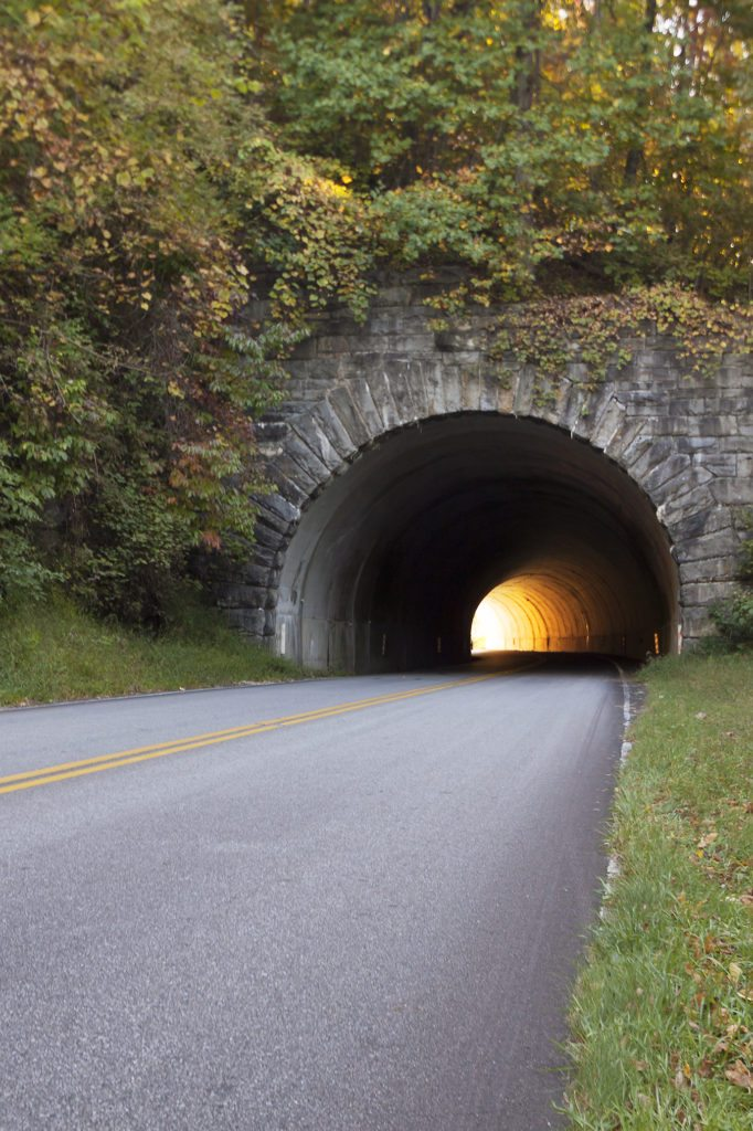 """Tunnel on the Blue Ridge Parkway"" by Jeff Bullman"