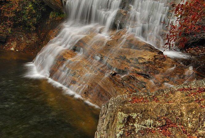 """Graveyard Fields Second Falls"" by Jeff Burcher Photography"