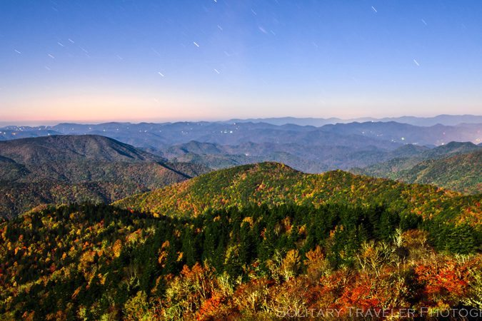 """""""Cowee Mountains Overlook Milepost 430"""" by Solitary Traveler Photography"""