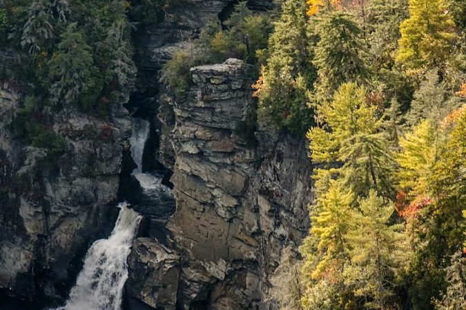"""Linville Falls"" by David Oppenheimer"