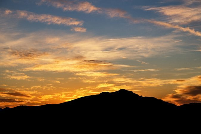 """Grandfather Mountain Sunset"" by Victor Ellison Fine Art Photography"