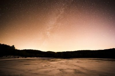 """Stars Over Bass Lake"" by Victor Ellison Fine Art Photography"