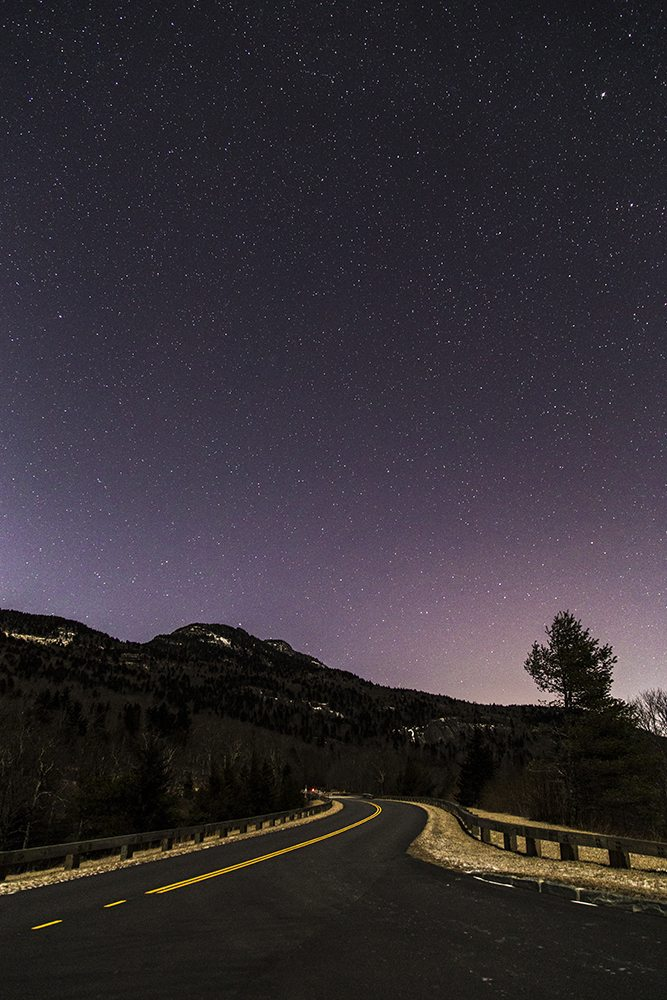 """""""Stars over Grandfather"""" by Victor Ellison Fine Art Photography"""