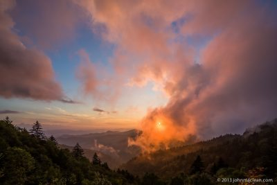 """Fire on the Mountain"" by John MacLean Photography"