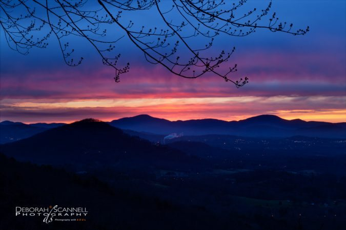 """Chestnut Cove Overlook Sunrise"" by Deborah Scannell Photography"