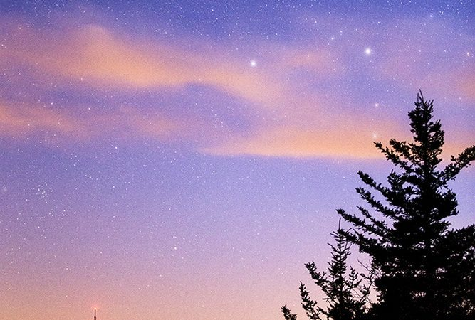 """""""Stars over Grandmother"""" by Victor Ellison Fine Art Photography"""