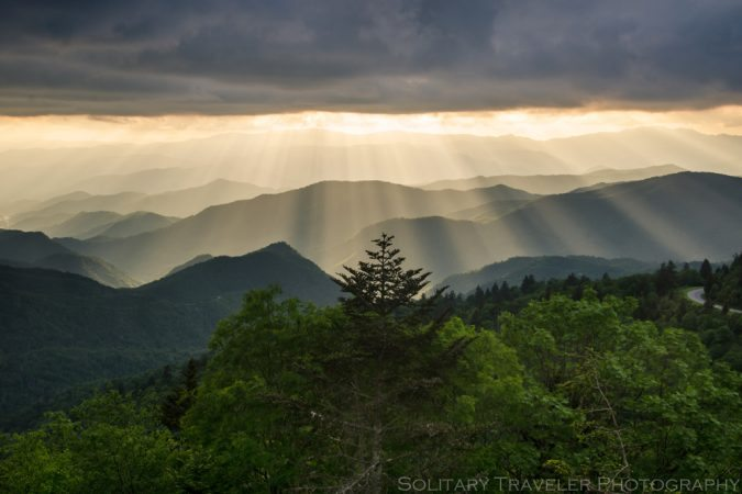 """Waterrock Knob, milepost 451"" by Solitary Traveler Photography"