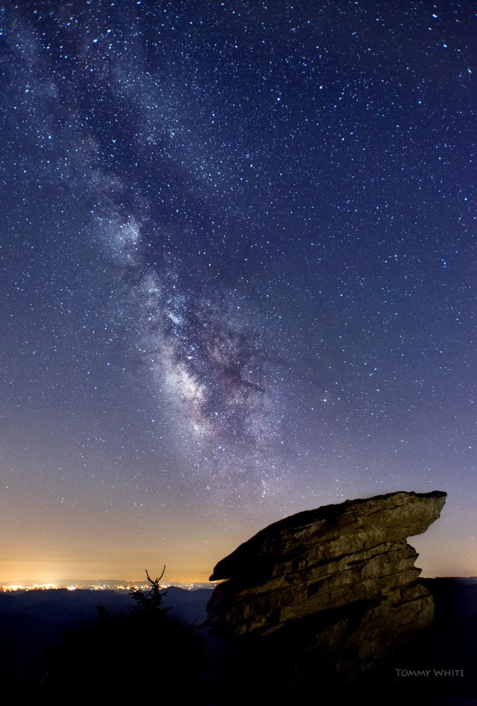 """""""Star Light at Rough Ridge"""" by Tommy White Photography"""