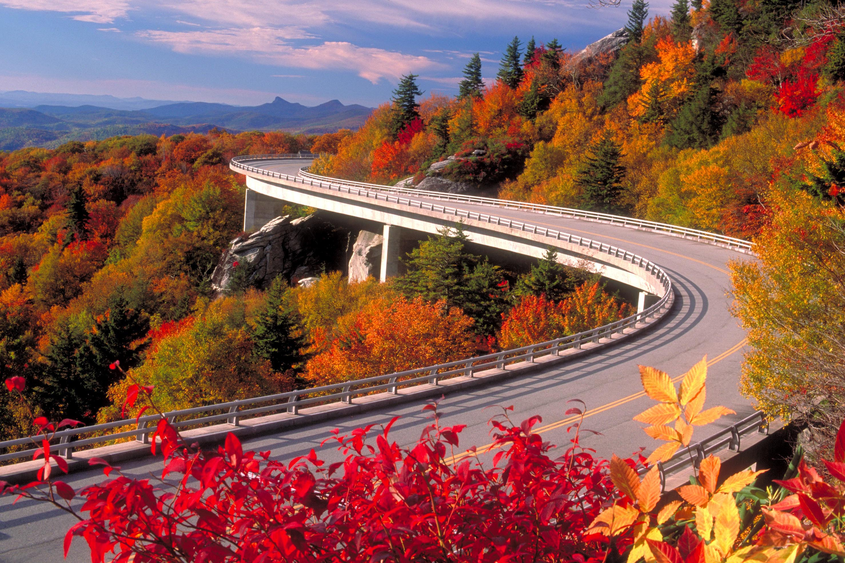enjoy the view watch the road blue ridge parkway prepares for fall