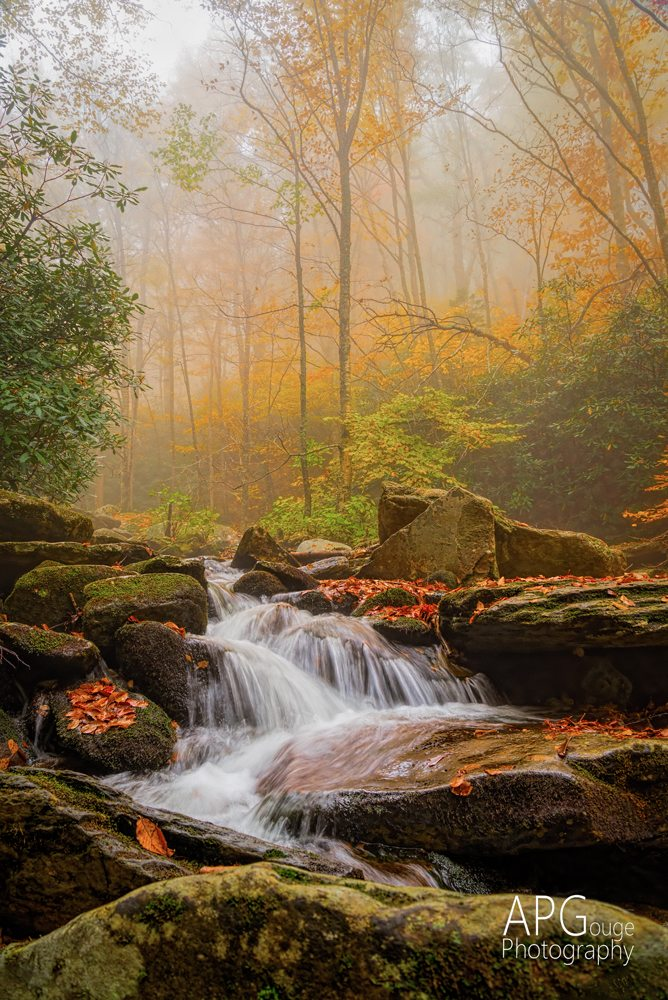 """Boone Fork Creek"" by AP Gouge Photography"