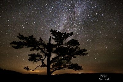 """Milky Way over Raven's Roost"" by Brent McGuirt Photography"