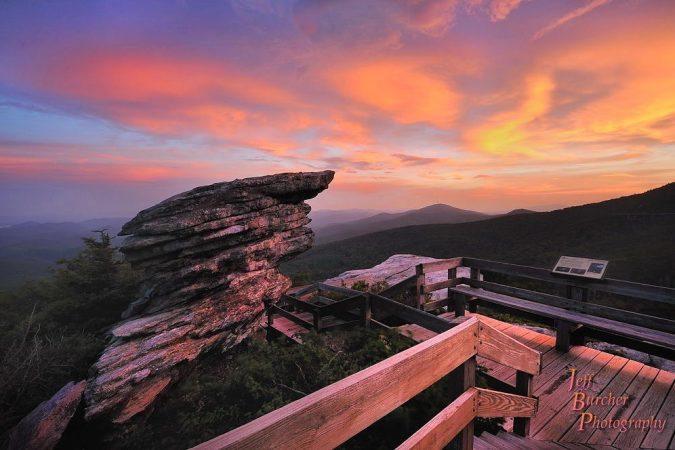 """Rough Ridge Sunset"" by Jeff Burcher Photography"