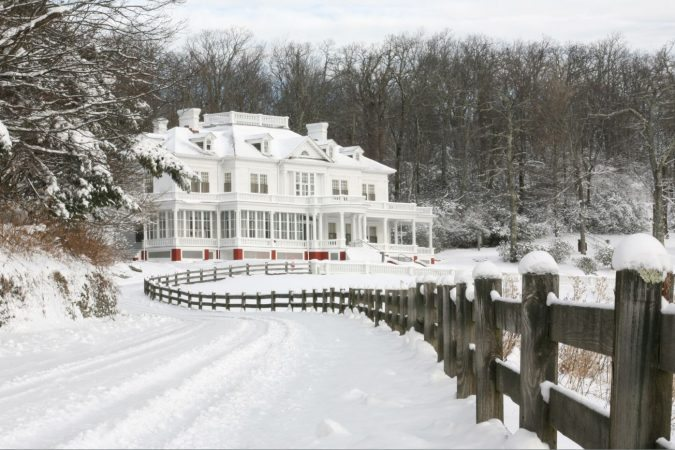 """""""Manor in Snow"""" by Eric McCarty"""