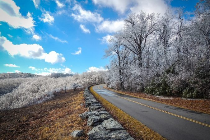 """""""Parkway Ice near Cumberland Knob"""" by Danny Redd Photography"""