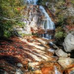 Graveyard Fields Waterfall, Milepost 418