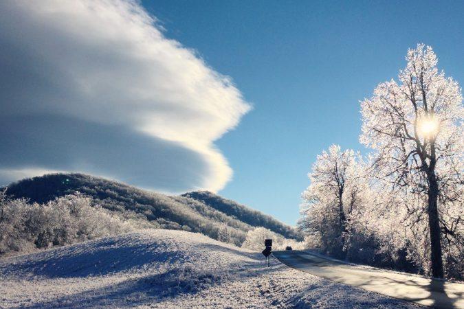 """Icy Parkway near Reids Gap"" by Lauren DeMoss Photography"