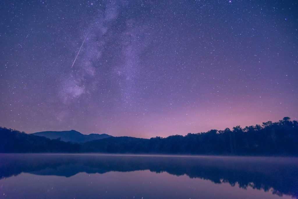 """""""Meteor over Price Lake"""" by Victor Ellison Fine Art Photography"""