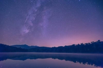 """Meteor over Price Lake"" by Victor Ellison Fine Art Photography"