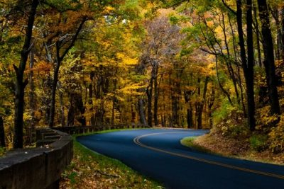"""Fall Drive on the Parkway near Milepost 395"" by David Fisher/Mexipickle"