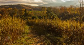 Photo Tour of Green Knob Trail, October 11, 2015