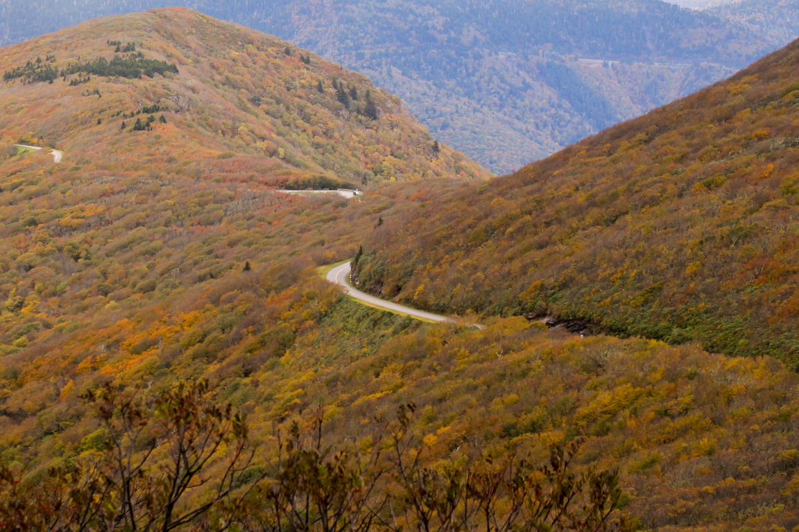 The Blue Ridge Parkway From Craggy Pinnacle Blue Ridge Parkway Daily Maps Pictures News