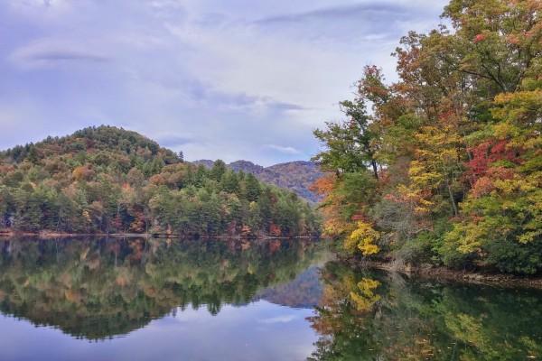 Autumn at Lake Santeetlah