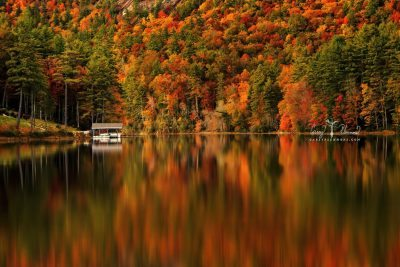 """Fairfield Lake, Sapphire Valley, Cashiers, NC"" by Carey Plemmons"
