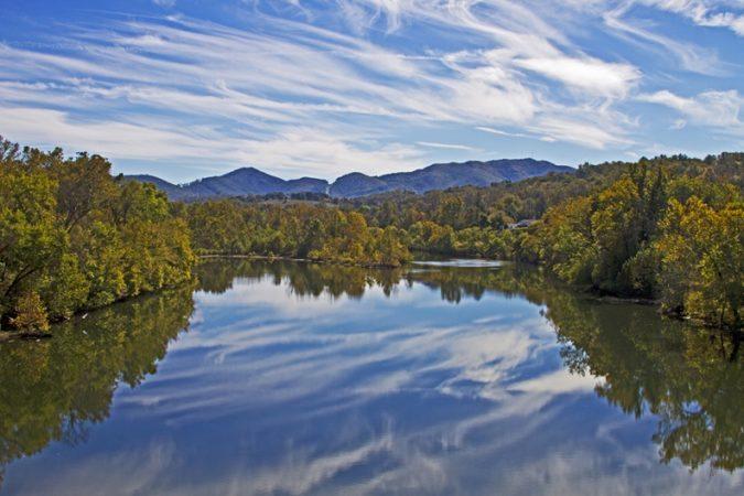 """The James River, Milepost 64"" by Kim L. Graham"