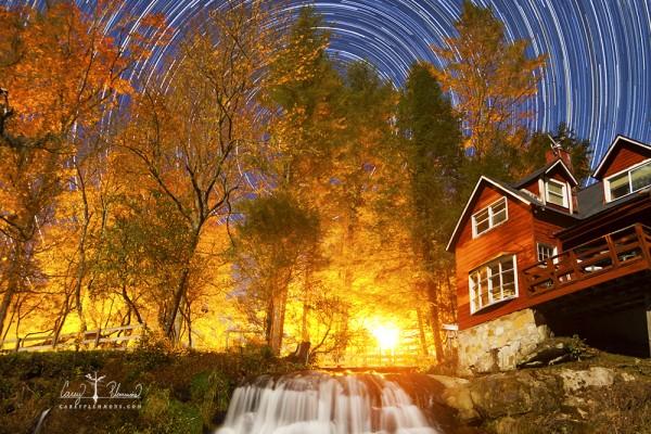 Composite Image of Mill Shoals Falls