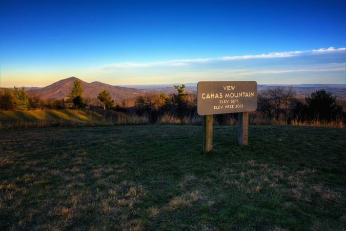 """Cahas Knob Overlook, Milepost 139"" by Steve Hurt"